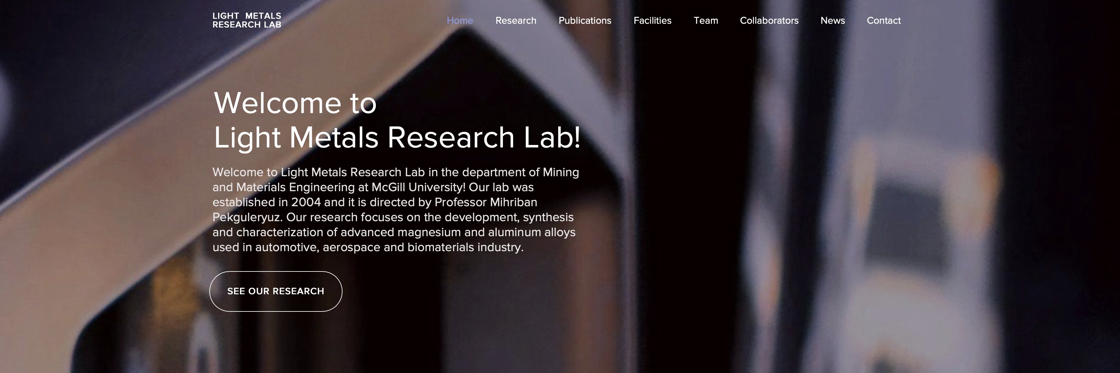 Light Metals Research Lab
